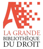 Droit Privé - Magazine cover